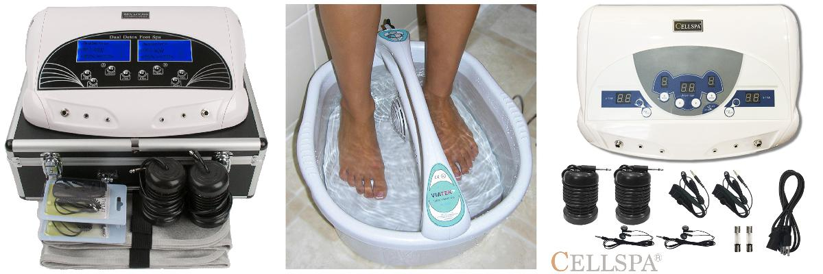 how to use a foot spa machine