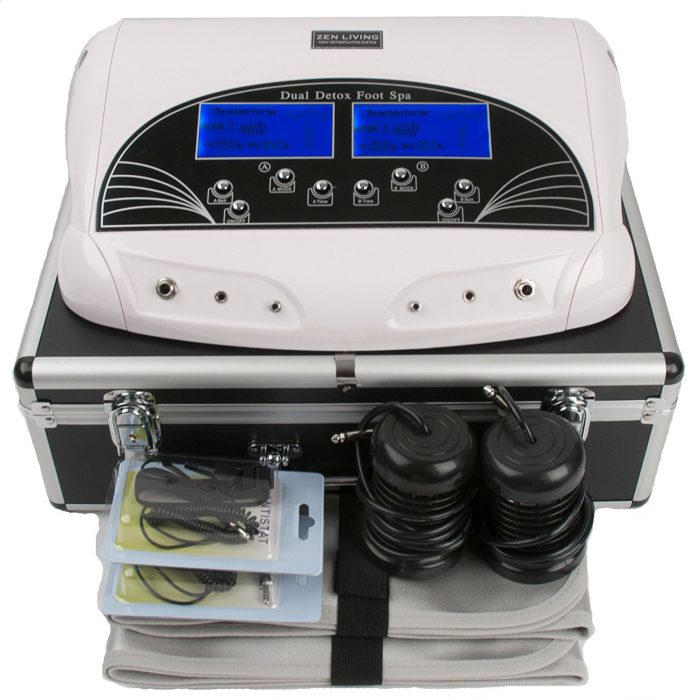 foot detox machine Evidence,benefit,Risks
