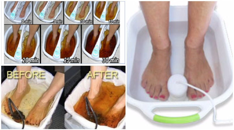 foot detox machine color chart 10 pc free download