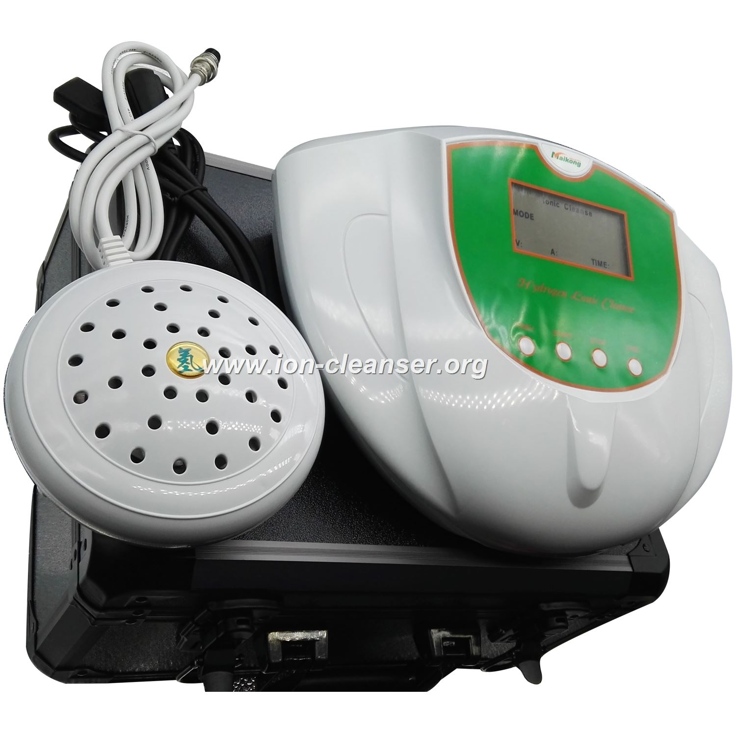 how does the foot detox machine work