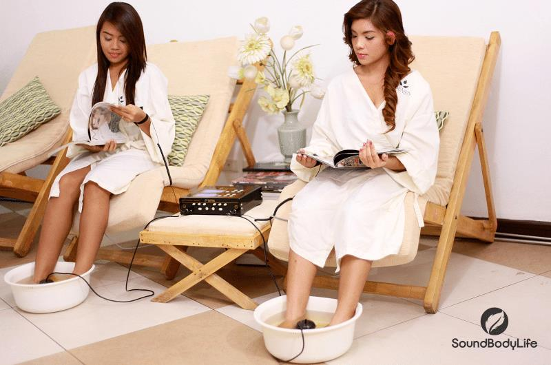 Detox Foot Spa Machine How Does It Work